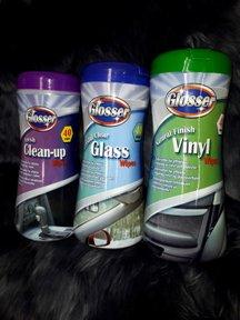 glosser wipes